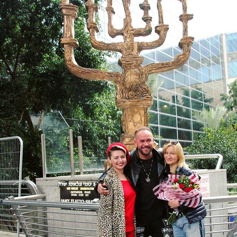 Максим Аверин и Анна Якунина в Израиле